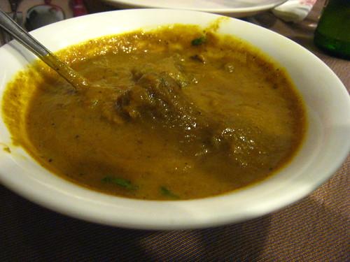 坦都印度餐廳-羊肉咖哩