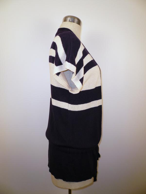 side knit vest