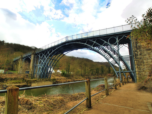 HDR- IRONBRIDGE in SHROPSHIRE