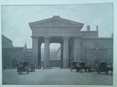 Euston Station Arch (r3cycl3r) Tags: street london victorian victoria queen scenes 1896