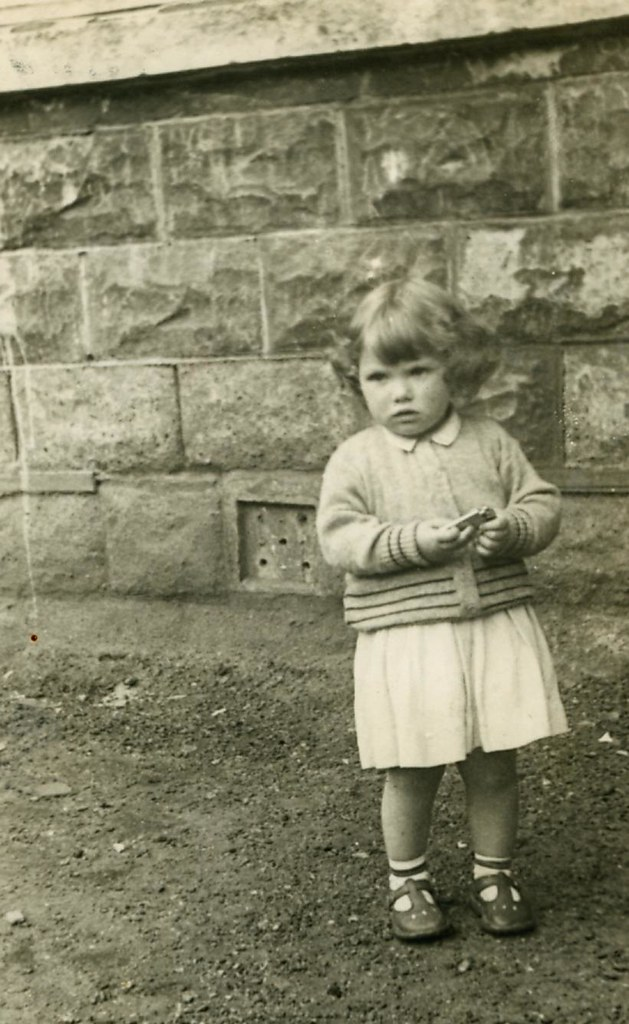 Marlene Watt, Round The Back, Springfield Road, 1951.