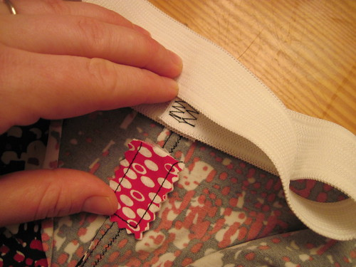 Preparing To Attach Waistband