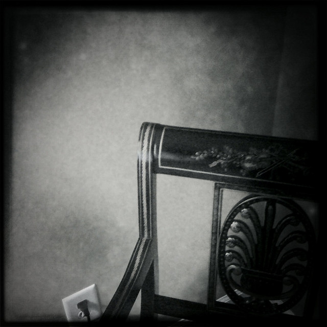 Chair, Pose 1 (Hipstamatic iPhone capture)