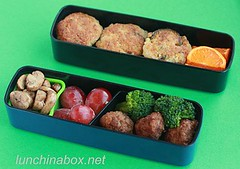 Risotto cake bento lunch