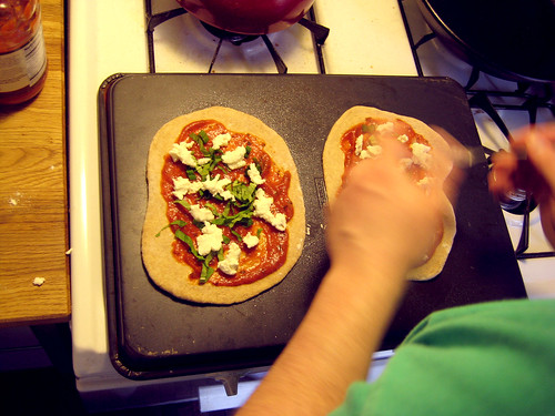 makin' de pizza