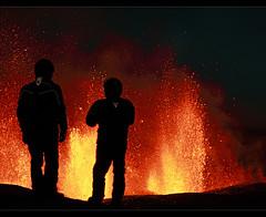 Inferno - Eyjafjallajokull Eruption (by orvaratli)