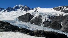 Mount Tasman NZ (PeterCH51 - many thanks for 5 million visits!) Tags: newzealand mountain snow nature berg glacier nz southisland westcoast southernalps mounttasman mywinners flickraward peterch51