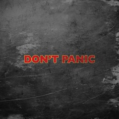 DON'T PANIC iPad Wallpaper (codywalton) Tags: wallpaper lock background homescreen ipad lockscreen