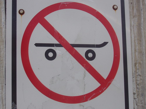 No angry faces allowed