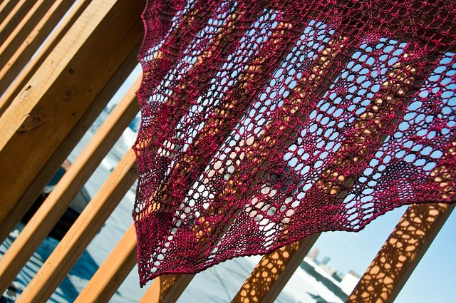 Arabella Shawl - FINISHED