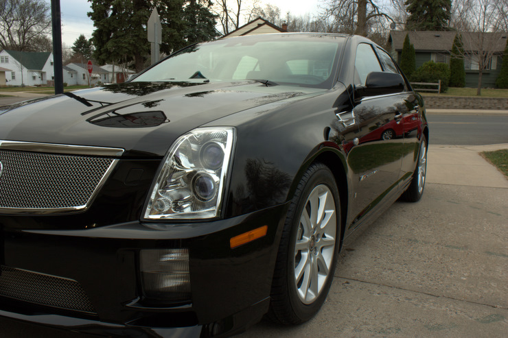 2008 Cadillac Sts V Major Paint Correction Ask A Pro Blog