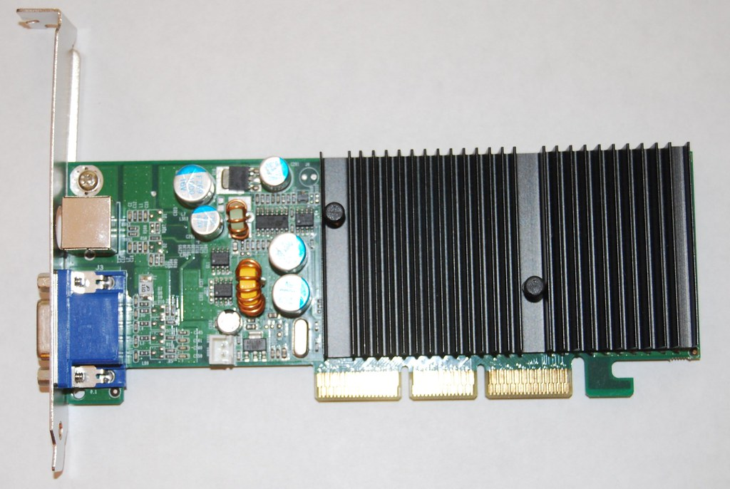 old Fx5200 display adapter
