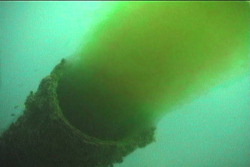 Sewage outfall