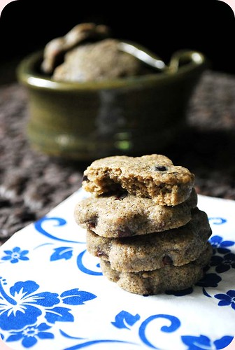 Buckwheat and Cacoa Nibs Butter Cookies IV