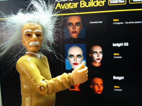 Botgirl & Einstein 2