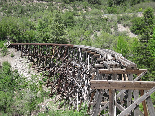 Picture from the Mexican Canyon Trestle Trail