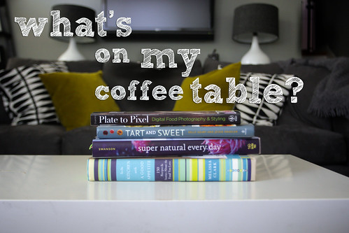 what's on my coffee table?