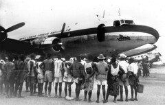 Iberia: vuelo inaugural a Bata (Guinea) (1941)
