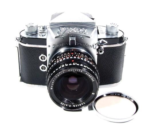 First cameras, Exa, Zeiss, Olympus | Voyages Around My Camera