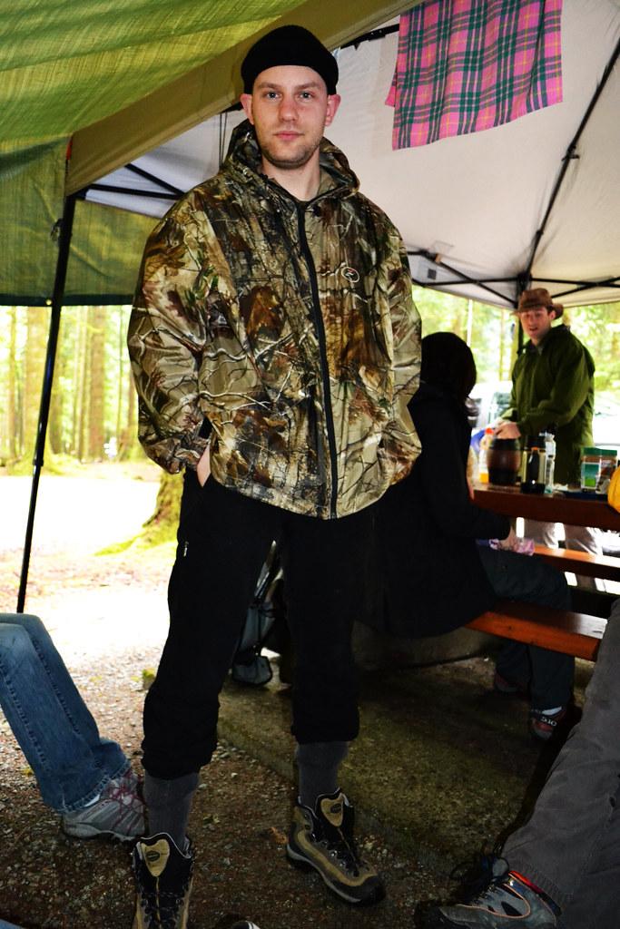 Camping Man