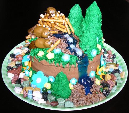 Beaver Cake 1
