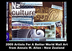 Annais M. Allen Mail Art, New Zealand