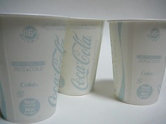 Coca Cola for Vending Machine use (Majiscup - The Papercup & Sleeve) Tags: castle for cola machine use coca gifu vending papercup