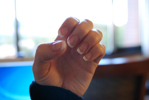 Simple Easy Nail Tips White Nailart