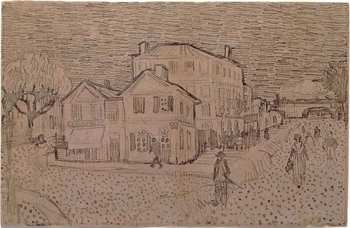 The Yellow House ('The street') -  September 1888 (691)