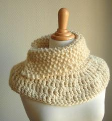 DSCThe Harmony Cowl (Ceibo Handmade) Tags: knitted crocheted chunky cowl
