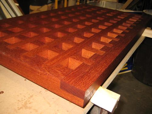 Mahagony Deck Grates
