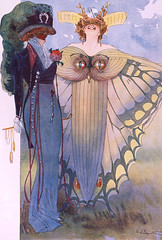 Moth Dress, Domini e Maschere, by G. Palanti