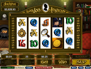 London Inspector slot game online review