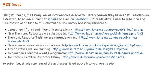 http://www.lib.cam.ac.uk/toolbox/rss.html