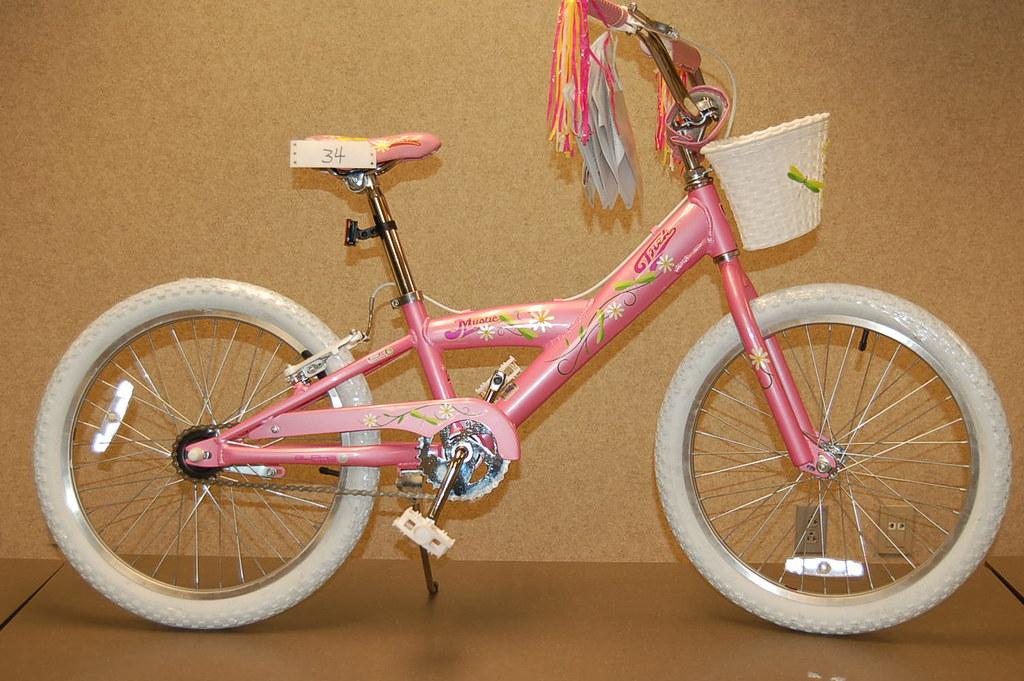 Bid Item #34 Girls 20 inch Trek Bike