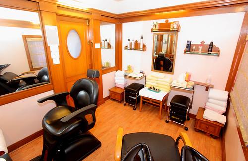 The Indian Maharaja, Deccan Odyssey - Beauty Salon