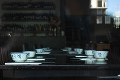 restaurant interior chinese chopsticks vic decor bowls malaysian portmelbourne placesetting omahs portmelbournevic