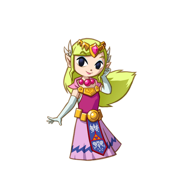 The Legend of Zelda: Spirit Tracks princesa