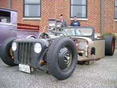1979 Jeep DJ Rat Rod (splattergraphics) Tags: dj jeep hotrod 1979 carshow ratrod customcar annapolismd rustynuts jalopyrama