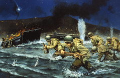 Tip of the Avalanche by Keith Rocco (The National Guard) Tags: usa heritage america army us unitedstates military air unitedstatesofamerica paintings guard national nationalguard historical series airforce