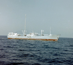 Odelia television at sea. (Christopher Arundel) Tags: sea television radio israel tv mediterranean peace offshore ships voice east pirate middle 1980s odelia