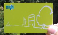 Myki ticket