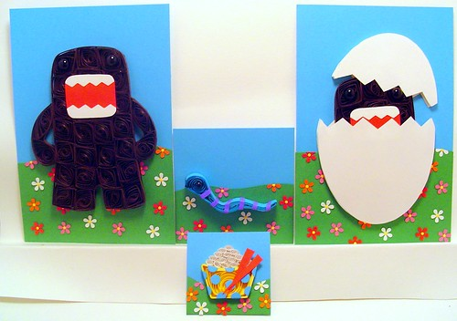 Paper Quilling Domo (Unframed)