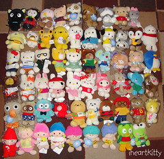 sanrio 100 plush collection - updated (iheartkitty) Tags: 2000 plush sanrio collection 100