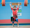 lahun85_3713 (Rob Macklem) Tags: china men olympic 2009 lu 85kg olympicweightliftingkoreaworldchampionshipsgoyangcity