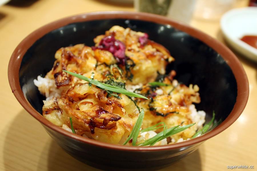 Sushi Zanmai Kakiage Don