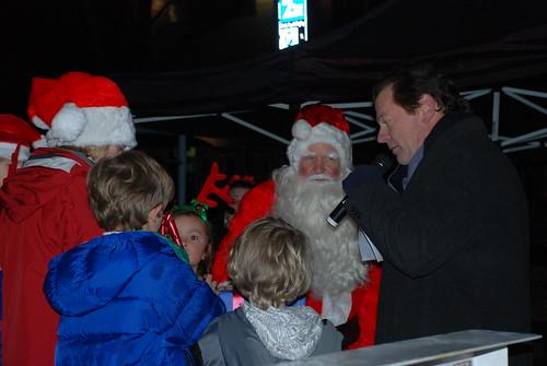 Santa, Cashman & Elves