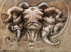 IDEA DE ANGEL (emy mariani) Tags: art dark muerte gore satan doom horror emy dibujos miedo mariani oscuridad arcanos indescriptible ominoso omnopotente