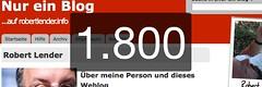 Nur ein Blog - 1800 Artikel