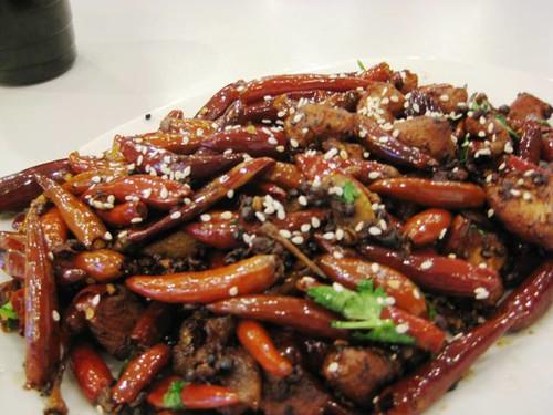 new taste: chicken chilli